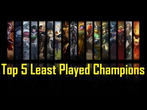 Top 10 Least Played League of Legends Champions - QTopTens