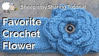 Video Crochet Flower Tutorial | Pattern by Nikki, in Stitches! download MP3, 3GP, MP4, WEBM, AVI, FLV September 2017