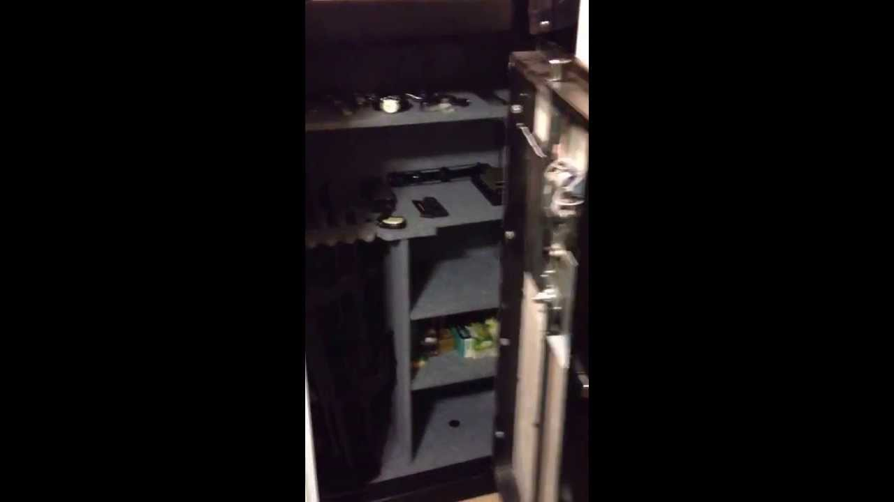 Sports Afield and Heritage safes are Seriously not very good and easy to  break into  Model 6033