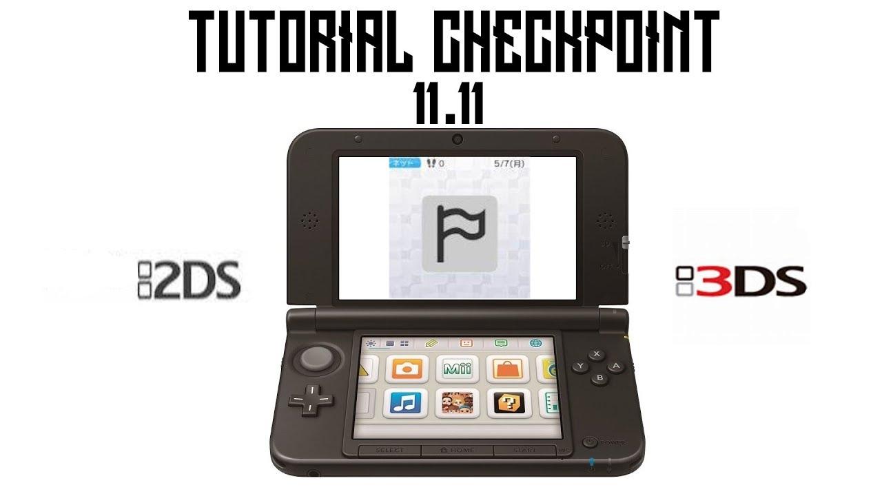 Checkpoint - Backup salvataggi e trucchi! - 3DS CFW