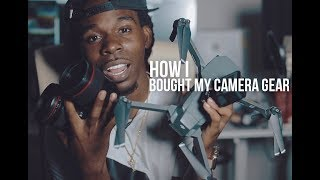 How I Bought My Camera Gear & make money online
