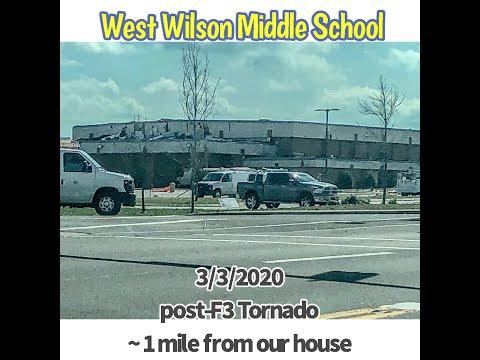 West Wilson Middle School hours post f3 tornado