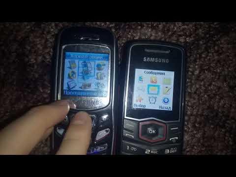Samsung SGH-C230 Samsung GT-E1081T Меню/Menu