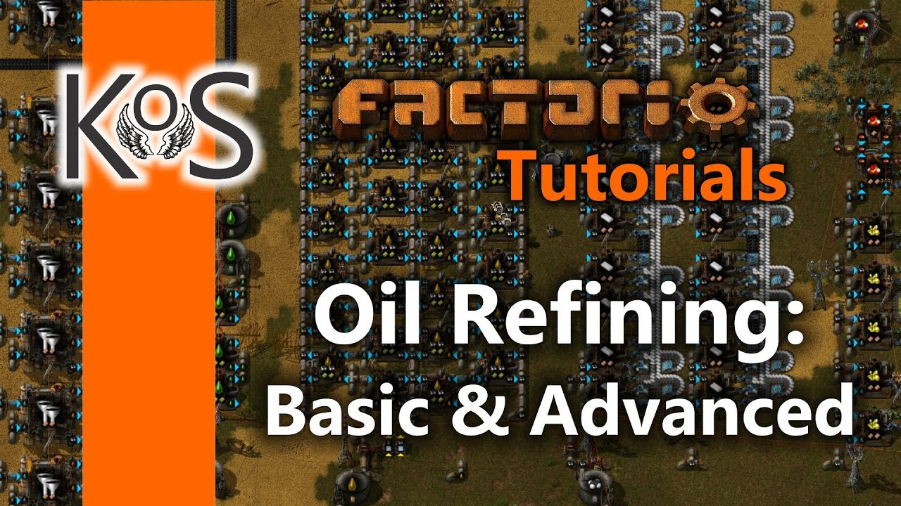 Factorio Tutorials: Setting up Oil Refining: Basic & Advanced