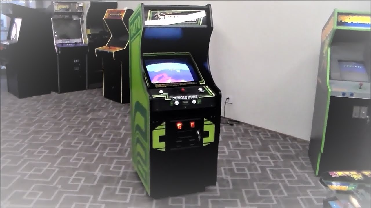 Taitou0027s Classic Jungle Hunt Arcade Game!   Redesigned Jungle King Cabinet