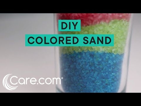 How to make your own colored sand for sand art youtube how to make your own colored sand for sand art solutioingenieria Image collections