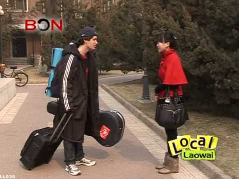Tour a Chinese College Campus -- Local Laowai ep. 36-- BON TV China
