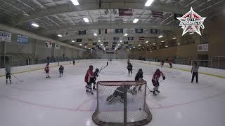 20180901 U16 Elite Prospects vs U19 Carolina Lady Eagles girls Hockey highlights