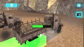 Army Cargo Driver Game Walkthrough