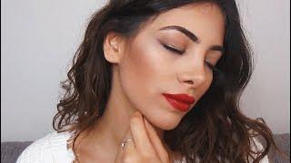 Maquillage complet de soirée facile & pas cher ! ♡ (Teint/ Yeux/ Lèvres)