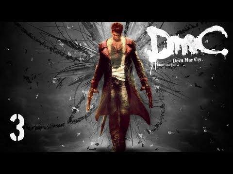 Прохождение DmC: Devil May Cry (русская озвучка) # 1 Вагинолицый демон