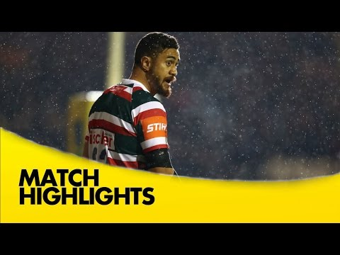 Leicester Tigers v Exeter Chiefs - Aviva Premiership Rugby 2016-17
