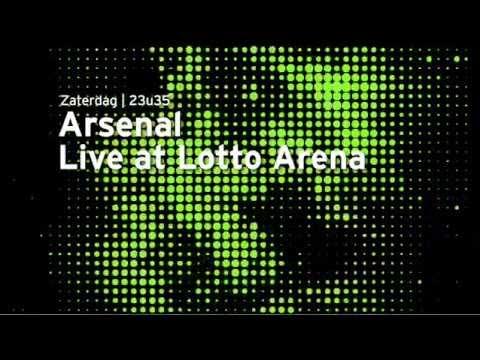 Arsenal - Furu Release Show At Lotto Arena (Trailer ACHT TV)