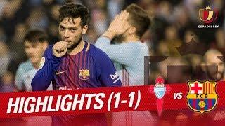 Resumen de RC Celta vs FC Barcelona (1-1)