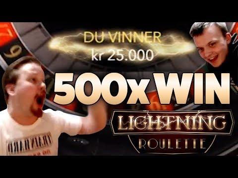 Lightning Roulette - 500x Big Win Comeback