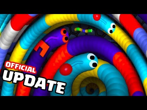 OMG! Slitherio NEW UPDATE!  Slitherio Gameplay Part 104