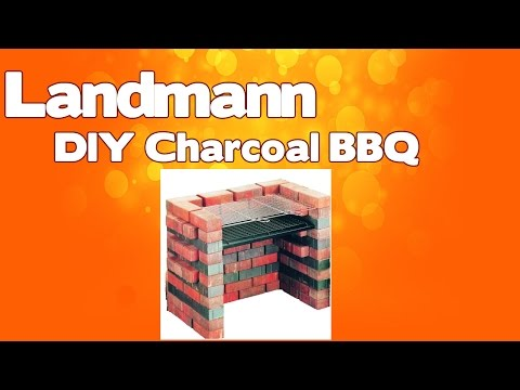 Landmann DIY Charcoal Grill -  Charcoal barbeque (BBQs) Review 2017