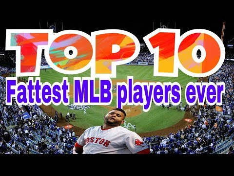 7282a808d Top 10 Fattest MLB players ever - YouTube