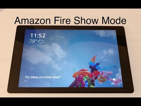 Amazon Fire Tablet Show Mode
