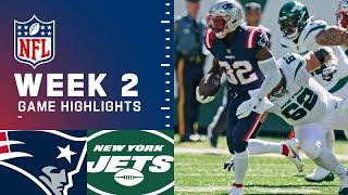 Patriots vs. Jets Week 2 Highlights   NFL 2021