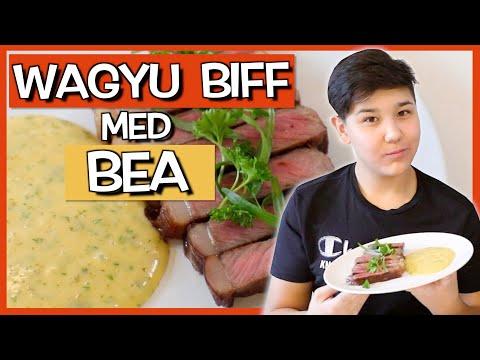 Lär Brorsan Laga Biff med Bea! | WAGYU KÖTT!