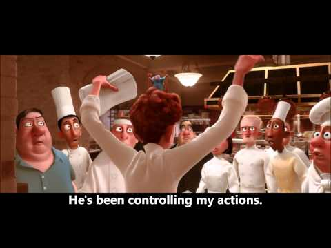 "Ratatouille - ""He's the Cook"" Scene"