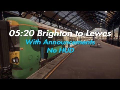 05:20 Brighton - Lewes (Announcements)|East Coastway|TSW |