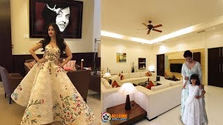 Aishwarya Rai Bachchan House Inside Room & Outside View Photos with Family Members