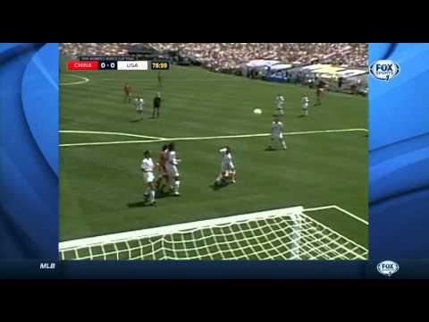 USWNT China 1999 Women's World Cup Final Full Game USA FOX SPORTS ABC