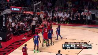 [2.17.13] James Harden - 15 points vs East All-Stars (Full Highlights)