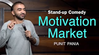 Motivation Market | Stand-up Comedy by Punit Pania