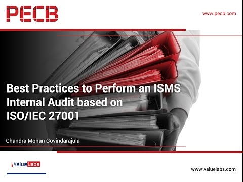 Best Practices to Perform an ISMS Internal Audit based on ISO/IEC 27001