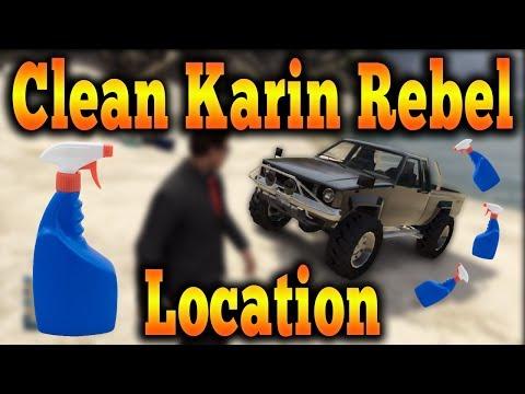 Gta 5 Online - Clean Karin Rebel Location