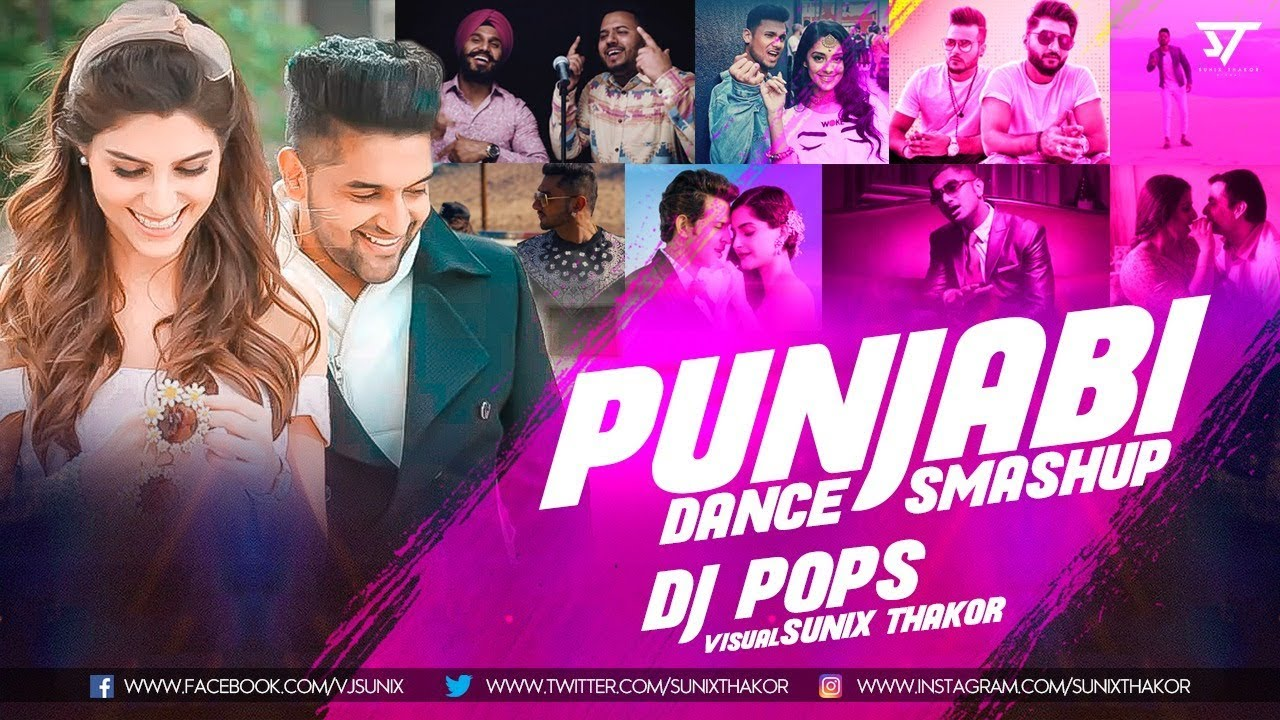 Punjabi Dance Smashup 2018 | Dj Pops | Sunix Thakor #1