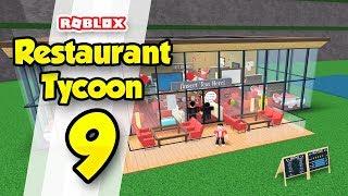 RESTAURANT TYCOON #9 - OUTDOOR UPGRADES (Roblox Restaurant Tycoon)