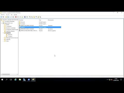 31 Windows 2016 - Gestión de Objetos del AD GUI - Crear Grupos