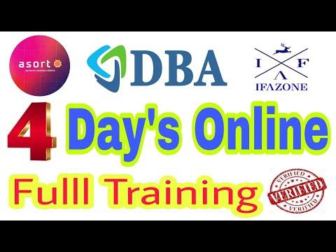 DBA Company 4 days Training _ DBA 10 Universal System #IFAZONE