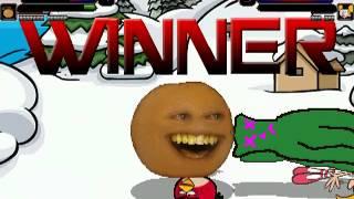 TheMattalocalypse Random Mugen Battle - 846 - Red Bird/Annoying Orange VS. Gumby/Dee Dee