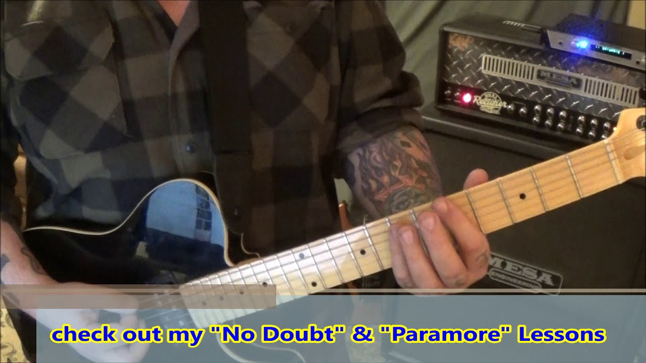 The Pretty Reckless Follow Me Down Guitar Lesson By Mike Gross