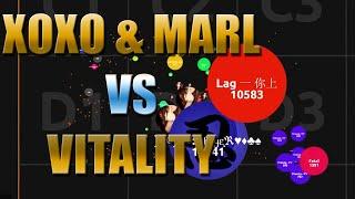 Agar.io - Տℓⱥყᶓℜ⚔ XOXO & Marl vs Vitality - Server Takeover #40