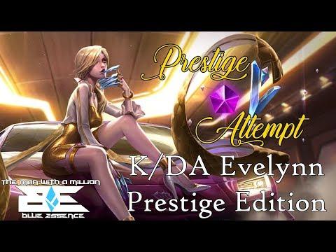 #PrestigeAttempt : K/DA Evelynn Prestige Edition | TMWAMBE