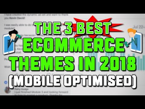 Highest Converting FREE eCommerce Themes to Increase Sales in 2018!