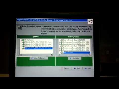Dell Precision LSI 9271 8i Adapter - RAID 10