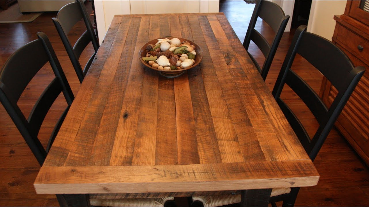 Butchers Block Table Top