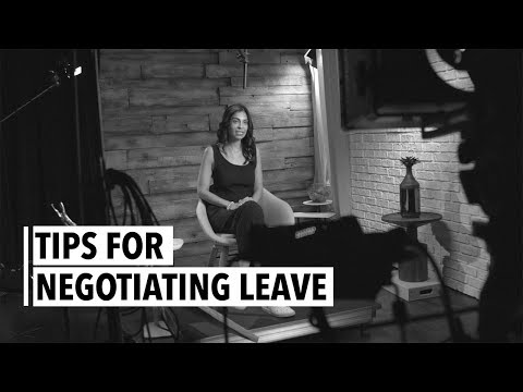 Anu Duggal Tips For Negotiating Leave - YouTube