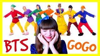 Реакция на BTS-Go Go. Белоснежка и 6 ГНОМОВ.