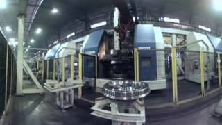 Производство железнодорожных колёс ЕВРАЗ