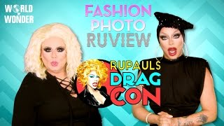 RuPaul's Drag Race Fashion Photo RuView w/ Delta Work and Raven RuPaul's DragCon 2016
