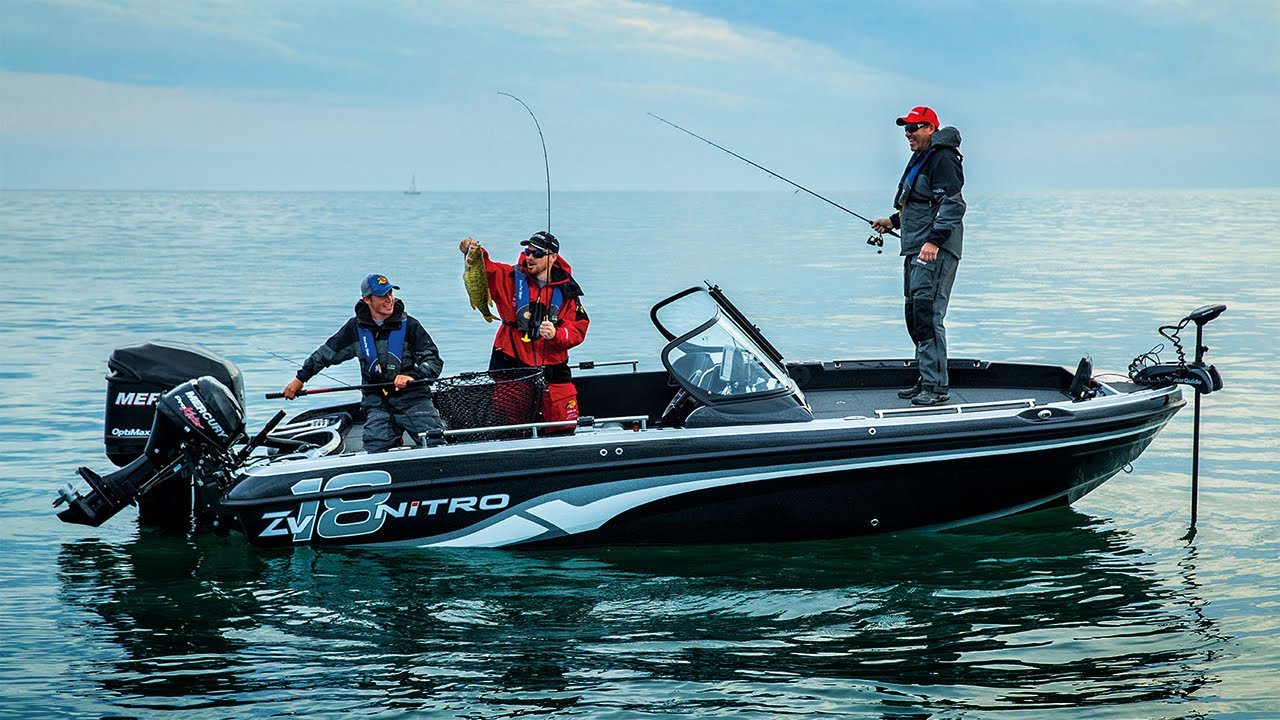nitro boats 2016 zv18 performance multi species fishing