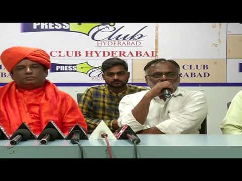 Hyderabad Press Meet Gurujee Kumaran Swami 1